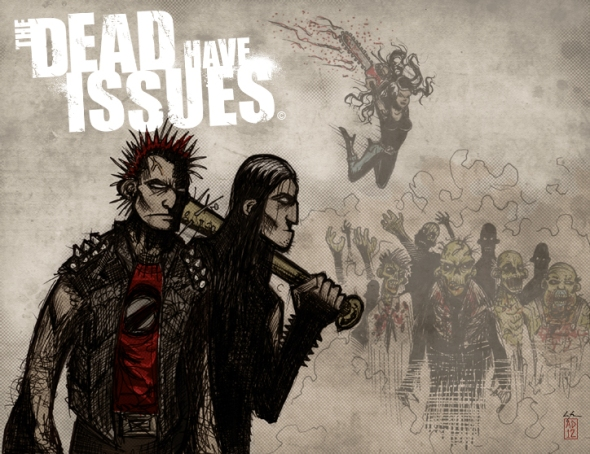 The Dead Have Issues Concept Sketch