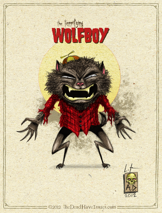 the terrifying wolfboy