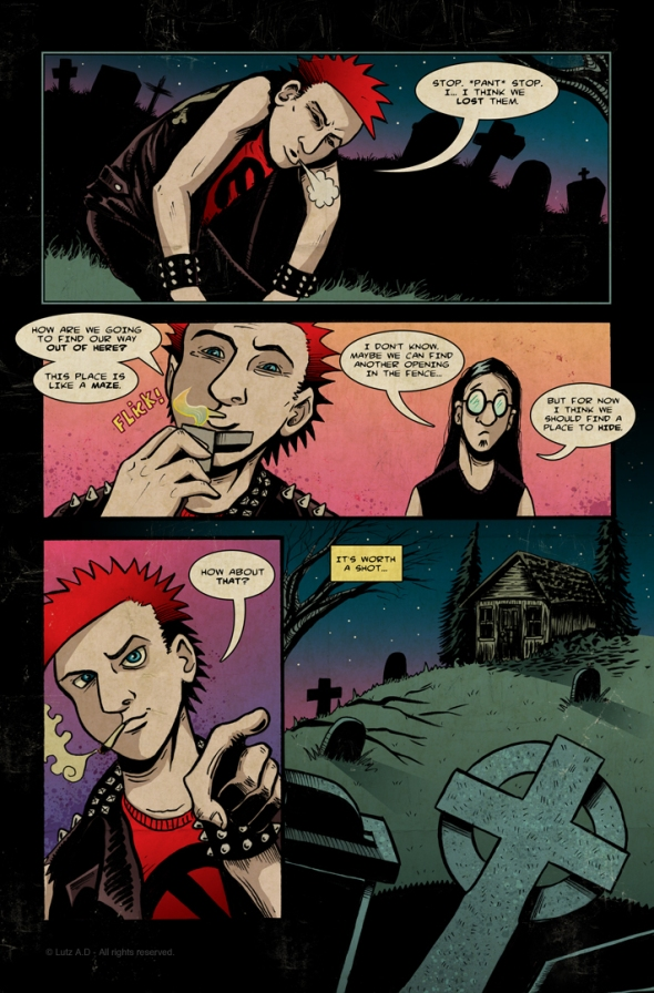 The Dead Have Issues - Page 29