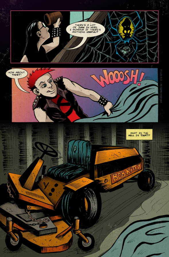 The Dead Have Issues - Page 32