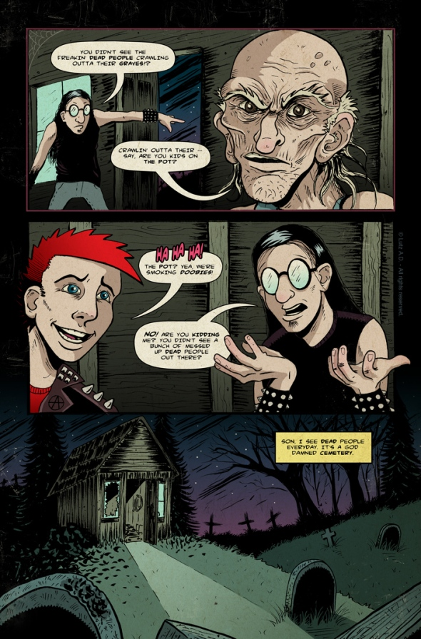 The Dead Have Issues - pg 35