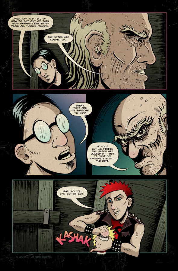 The Dead Have Issues - Page 36