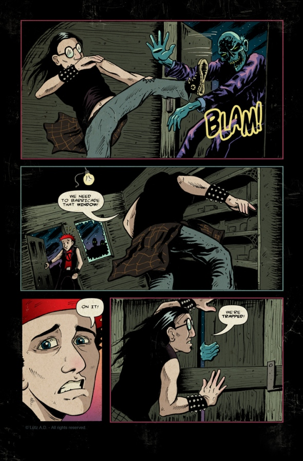The Dead Have Issues - Page 39