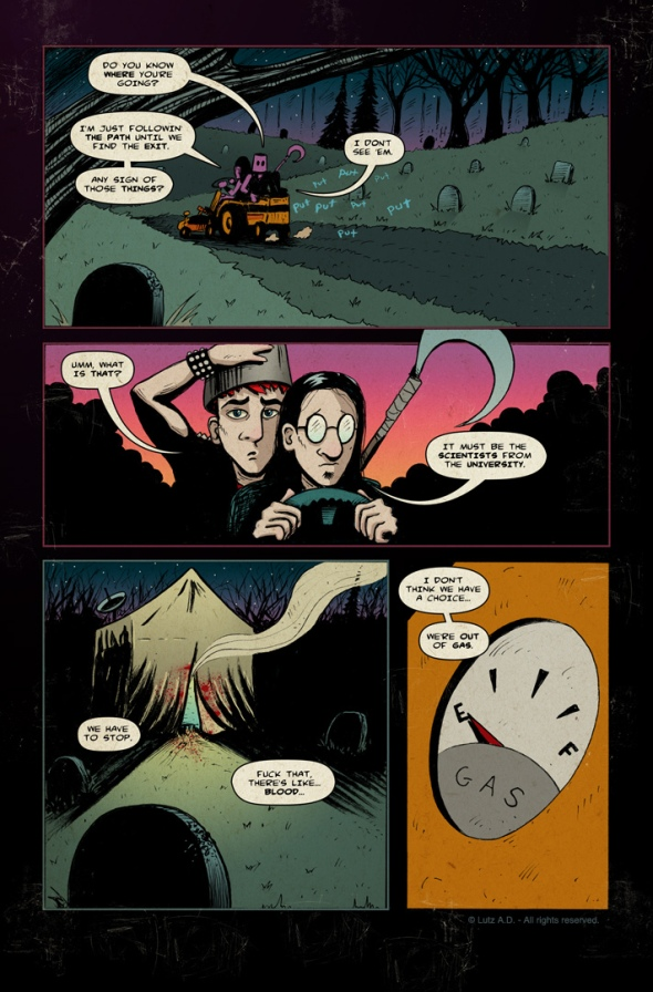 The Dead Have Issues - Pg 47