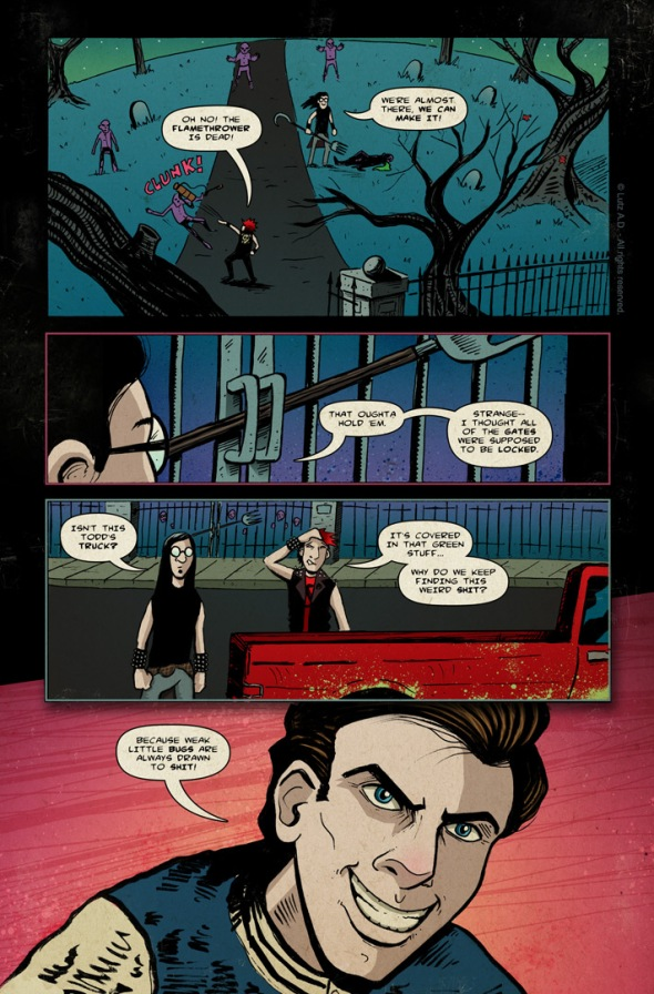 The Dead Have Issues - page 57