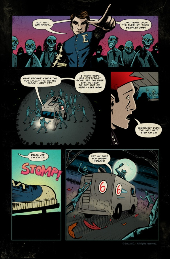 The Dead Have Issues - pg 61
